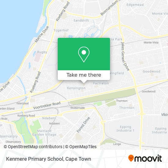 Kenmere Primary School map