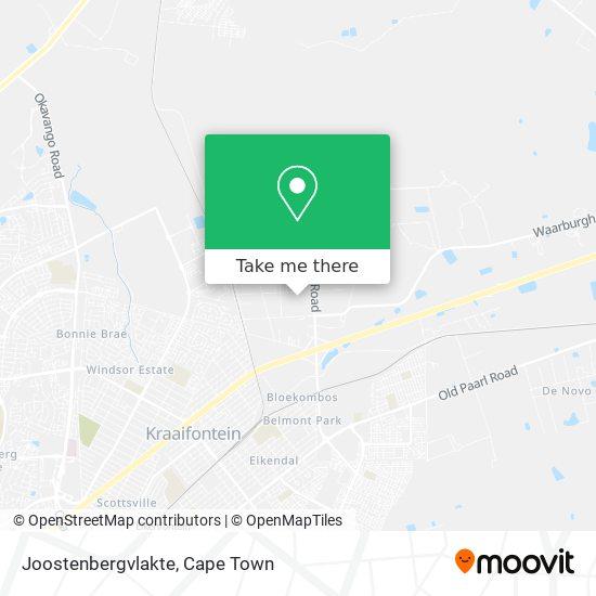 Joostenbergvlakte map