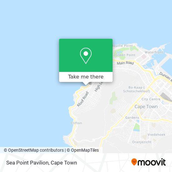 Sea Point Pavillion Swimming Pool map