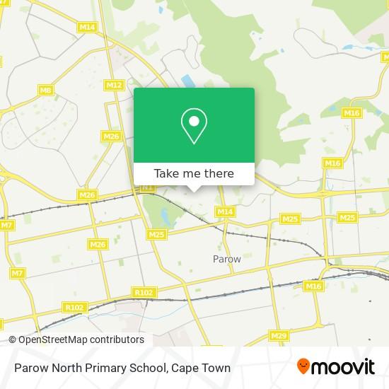 Parow North Primary School map