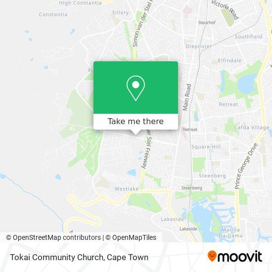 Tokai Community Church map