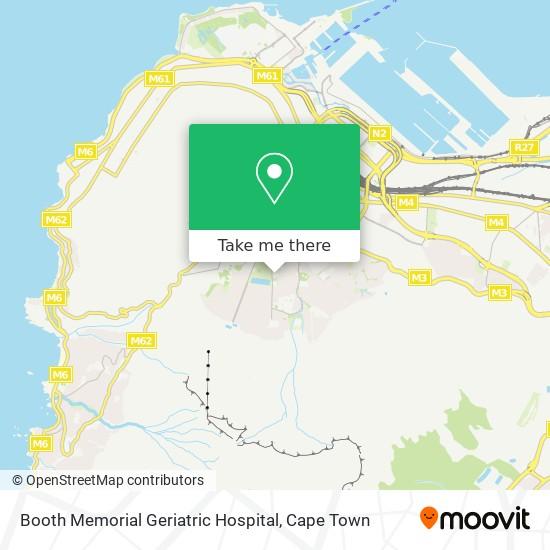 Booth Memorial Geriatric Hospital map