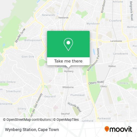 Wynberg Station map