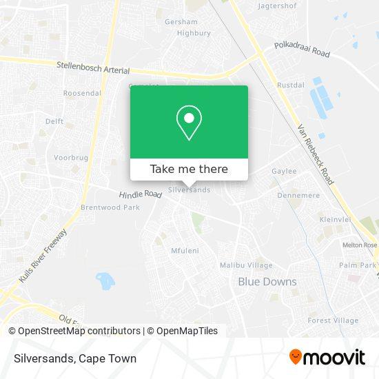 Silversands map