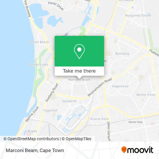 Marconi Beam map