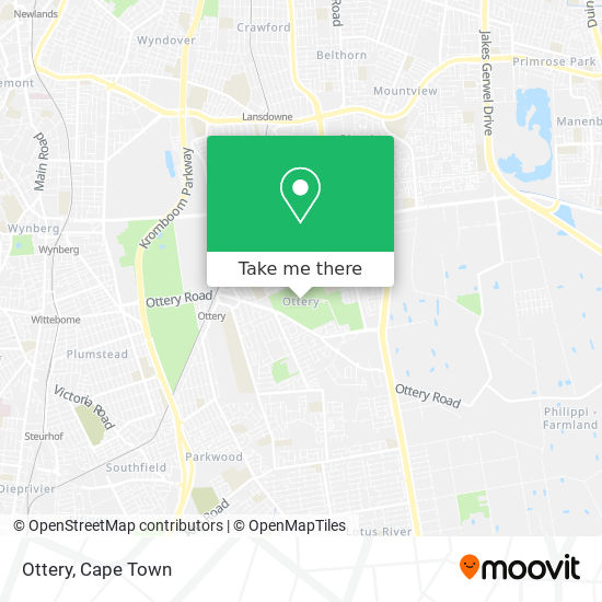 Ottery map