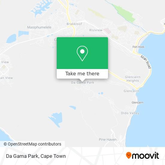 Da Gama Park map