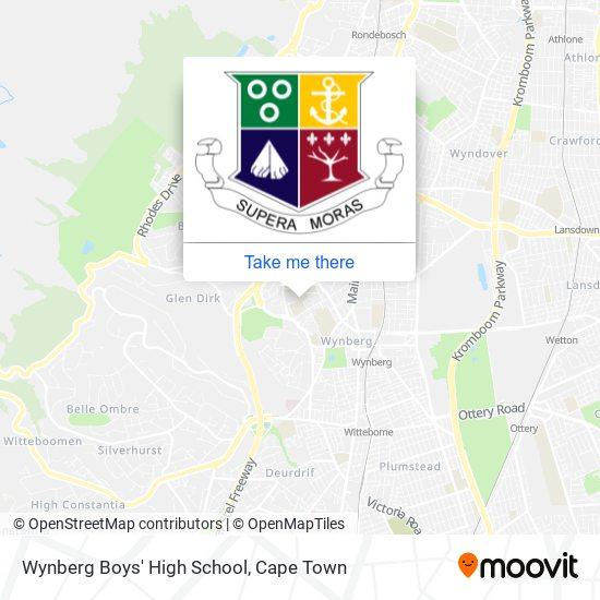 Wynberg Boys' High School map