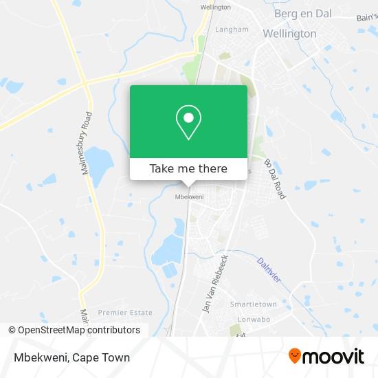 Mbekweni map