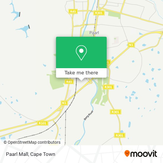 Paarl Mall map