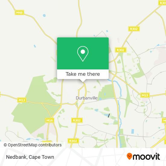 Nedbank map