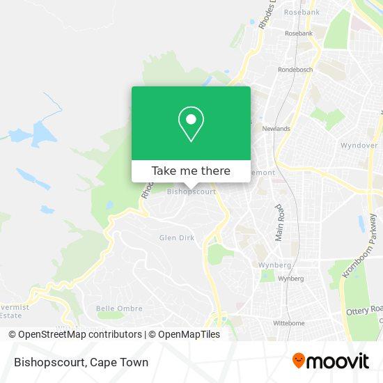 Bishopscourt map