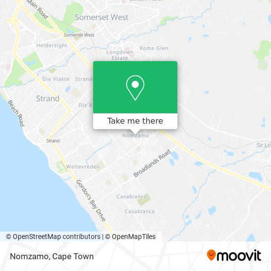 Nomzamo map
