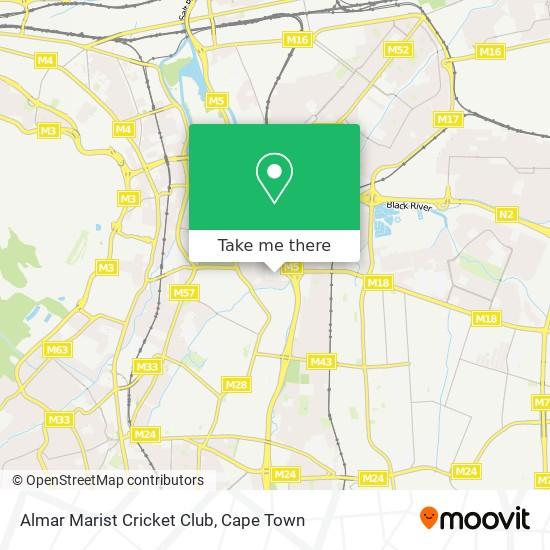 Almar Marist Cricket Club map