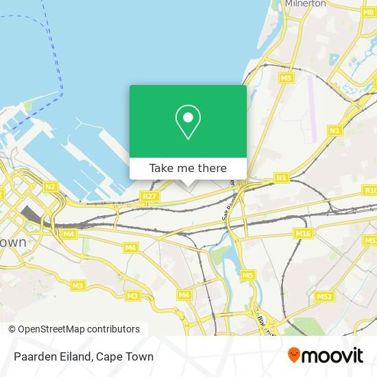 Paarden Eiland map