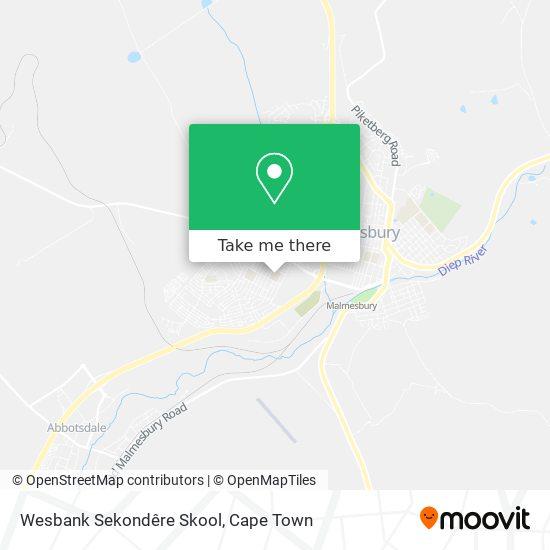 Wesbank Sekondêre Skool map