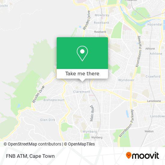 FNB ATM map