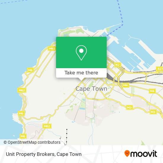 Unit Property Brokers map