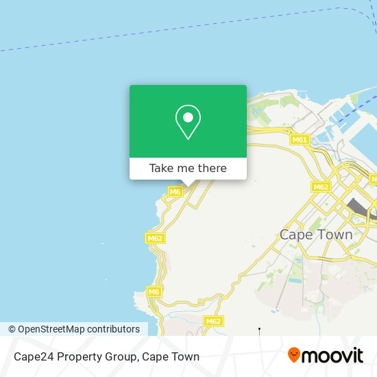 Cape24 Property Group map