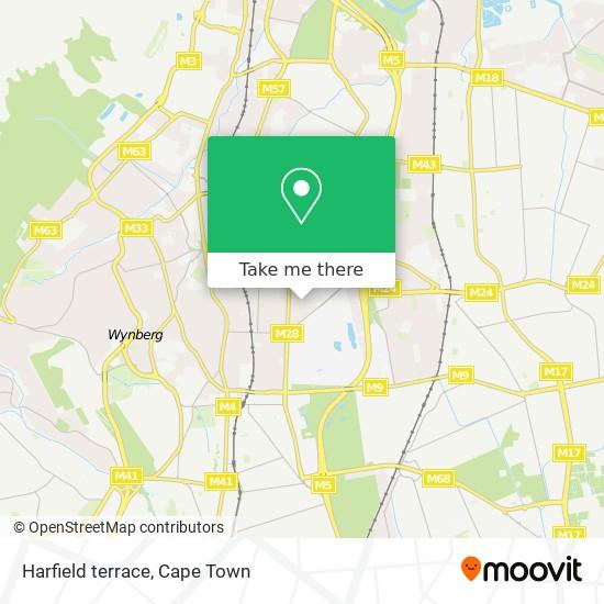 Harfield terrace map