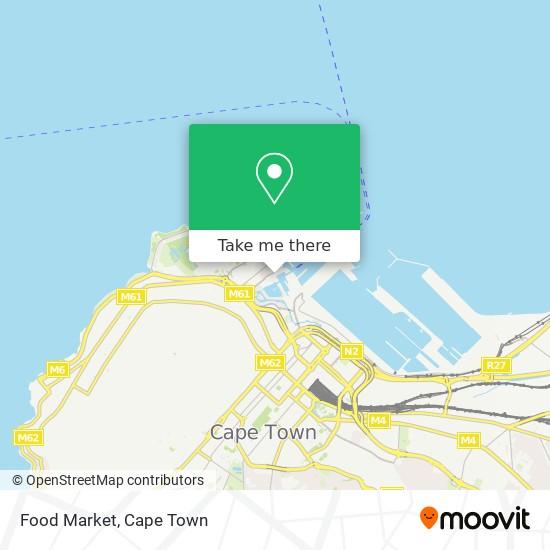 Food Market map