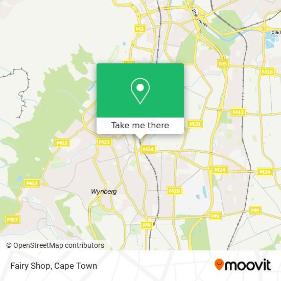 Fairy Shop map