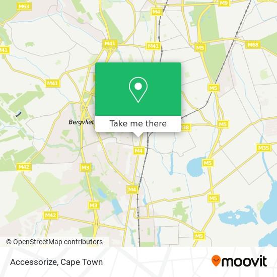 Accessorize map