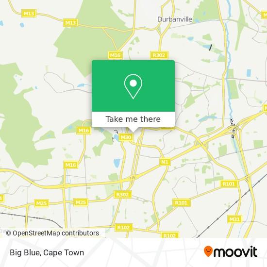 Big Blue map