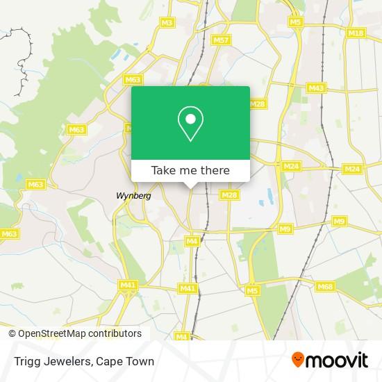 Trigg Jewelers map