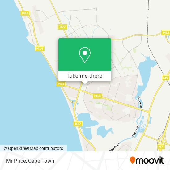 Mr Price map