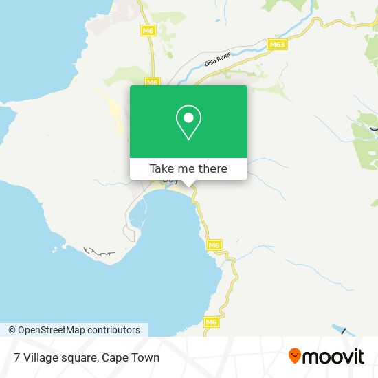 7 Village square map