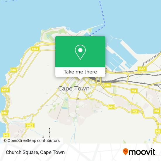 Church Square map