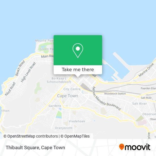 Thibault Square map