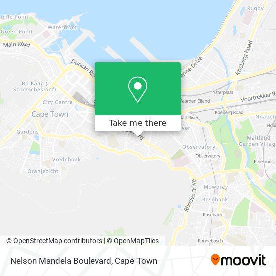 Nelson Mandela Boulevard map