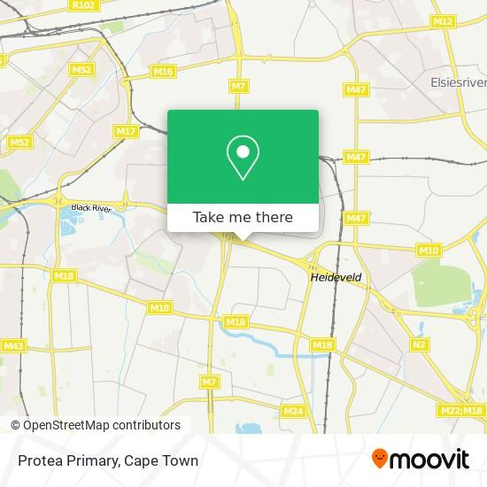 Protea Primary map