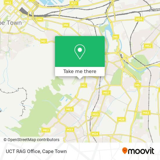 UCT RAG Office map