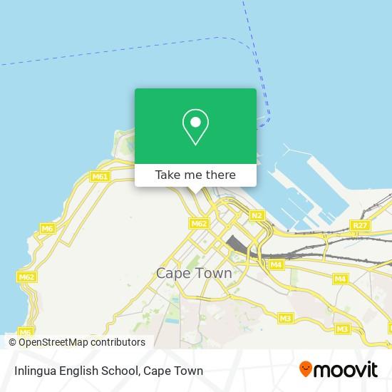 Inlingua English School map
