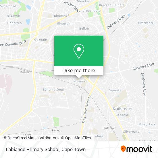 Labiance Primary School map