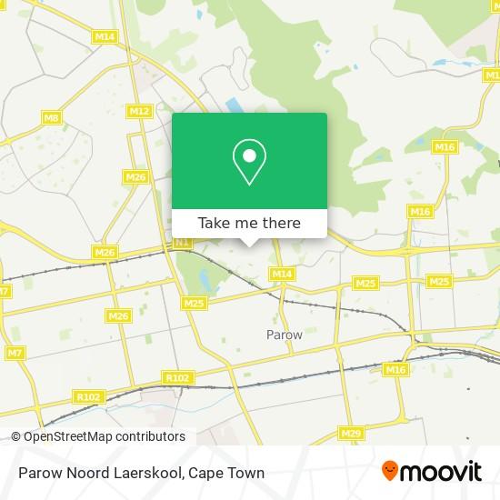 Parow Noord Laerskool map