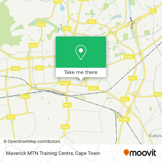 Maverick MTN Training Centre map