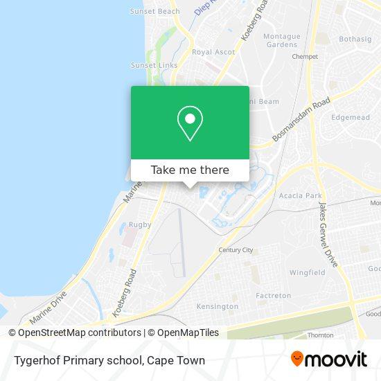 Tygerhof Primary school map