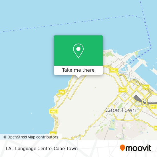 LAL Language Centre map