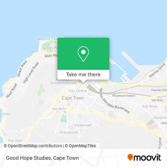 Good Hope Studies map