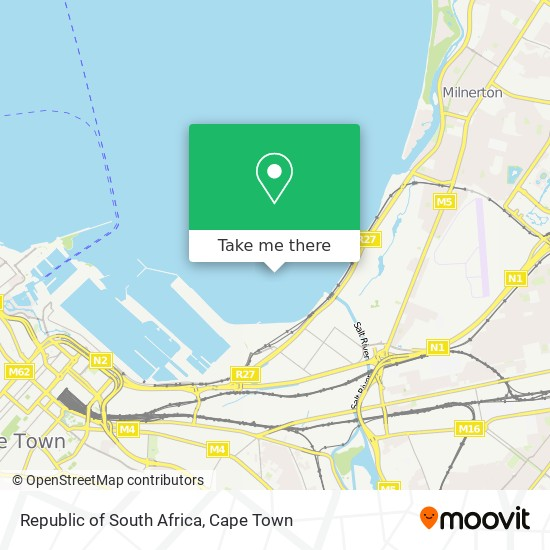 Republic of South Africa map