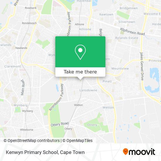 Kenwyn Primary School map