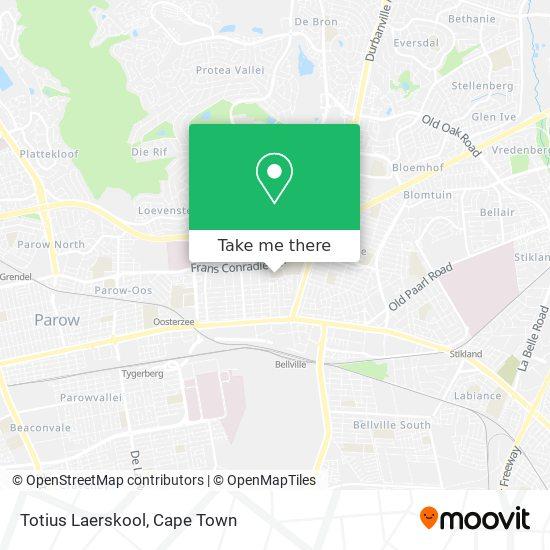 Totius Laerskool map