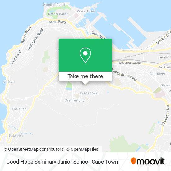 Good Hope Seminary Junior School map