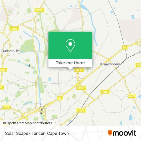 Solar Scape - Tancan map