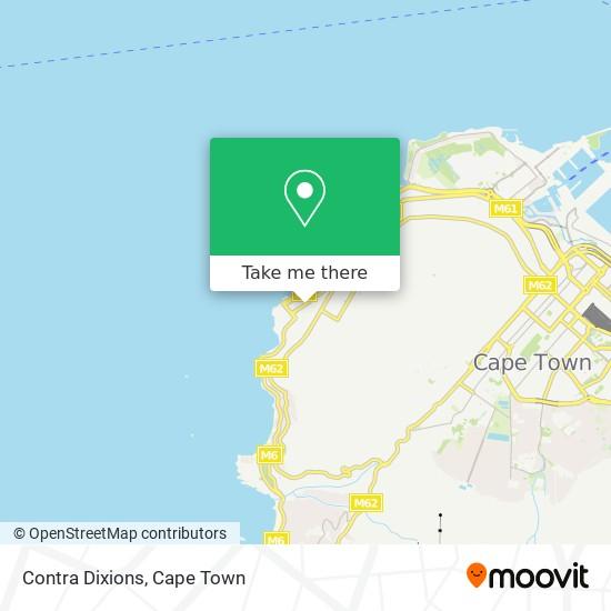 Contra Dixions map