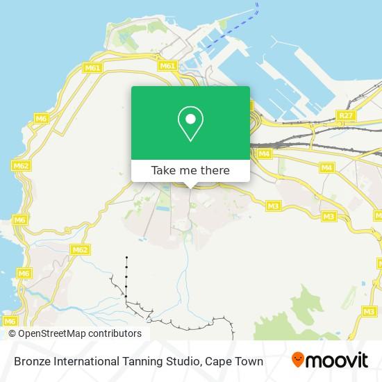 Bronze International Tanning Studio map